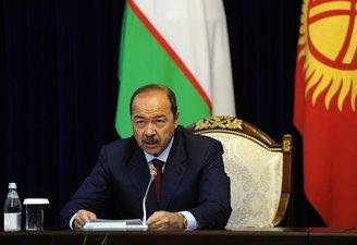 Абдулла Арипов Қирғизистоннинг янги бош вазирига табрик йўллади