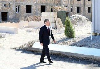 Президент Тошкентдаги бунёдкорлик ишларини кўздан кечиради