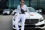 Ўзбекистонлик йигит россиялик репернинг автомобилини ютиб олди