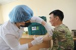 Ўзбекистон армияси деярли 100% коронавирусга қарши эмланиб бўлди