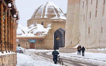 холод зима Бухара