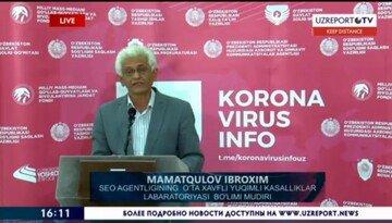 Ўзбекистон Россия вакцинасидан 5 минг доза сўраган — Иброҳим Маматқулов (+видео)