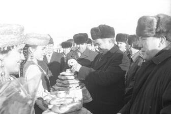Ислом Каримовнинг архив суратлари