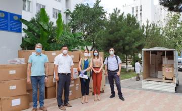 АҚШ Ўзбекистонга COVID-19 ни эрта аниқлайдиган ускуналарни тақдим қилди