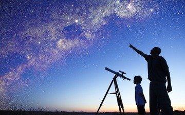 телескоп небо космос