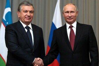 Шавкат Мирзиёев Владимир Путин билан телефон орқали мулоқот қилди
